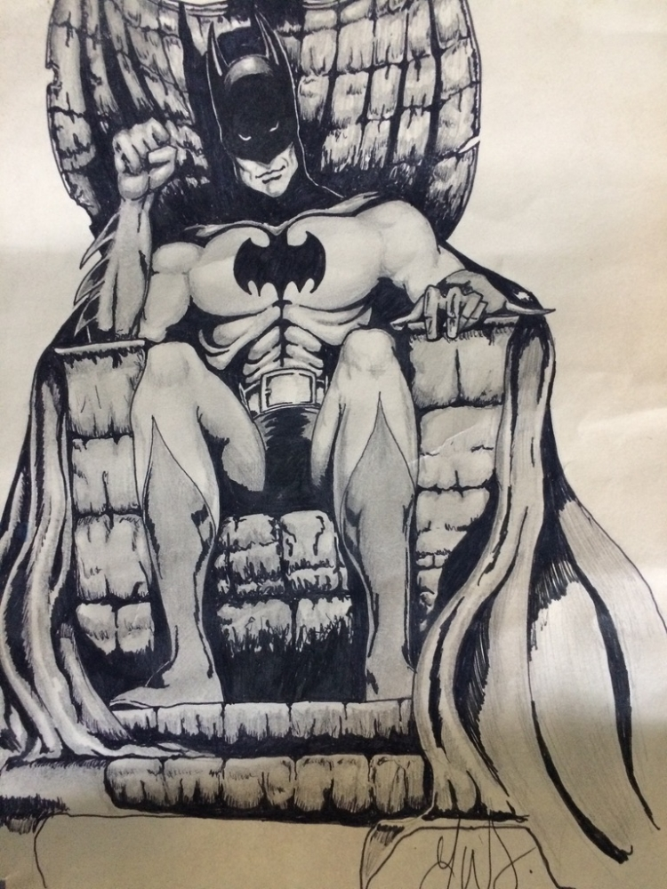 Batman by weaverjohn